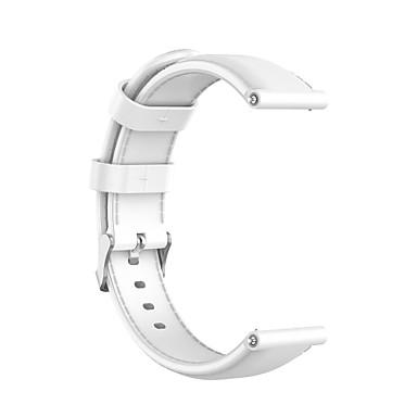 Недорогие Ремешки для часов Huawei-Ремешок для часов для Huawei B5 Huawei Классическая застежка Натуральная кожа Повязка на запястье
