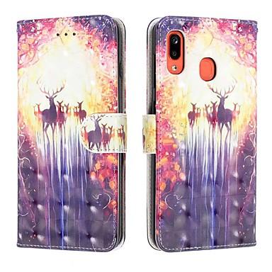 Недорогие Чехлы и кейсы для Galaxy А-чехол для samsung galaxy a6 (2018) / a6 plus / a7 (2018) кошелек / визитница / флип кейс для тела / a2 core