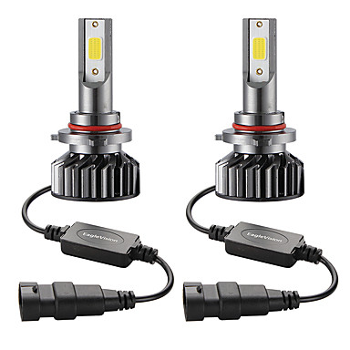 Недорогие Автомобильные фары-Мини-автомобиль светодиодная лампа головного света 9005 / hb3 привет / ло 72 Вт 10000lm 6000 К автомобильная фара