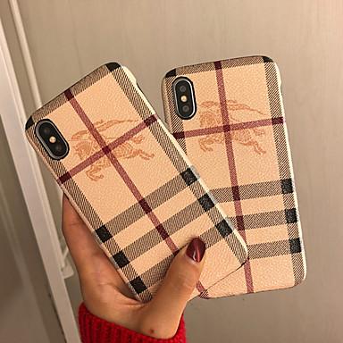 voordelige Galaxy Note-serie hoesjes / covers-hoesje Voor Samsung Galaxy S9 / S9 Plus / S8 Plus Schokbestendig / Patroon Achterkant Lijnen / golven TPU