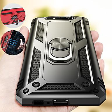 voordelige Samsung-accessoires-Luxe armor zachte schokbestendige case voor samsung galaxy a80 a90 siliconen tpu bumper case voor samsung galaxy a60 auto metalen magnetische vinger ring cover
