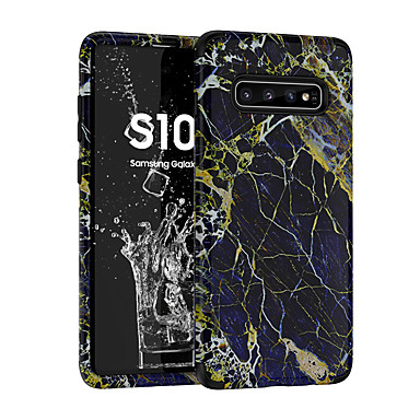 voordelige Galaxy Note-serie hoesjes / covers-hoesje voor samsung galaxy s9 / s9 plus / note 9 schokbestendig / mat / patroon achterkant marmer pc