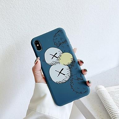voordelige iPhone X hoesjes-hoesje Voor Apple iPhone XS / iPhone XR / iPhone XS Max Stofbestendig / Patroon Achterkant Voedsel TPU