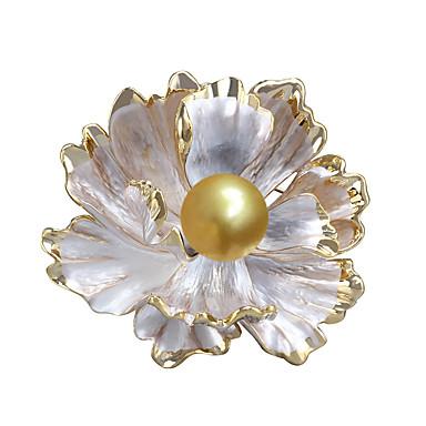 povoljno Broševi-Žene Biseri Broševi Cvijet Stilski Jednostavan slatko Moda Biseri Broš Jewelry Zlatan Za Vjenčanje Party Angažman Dar Rad