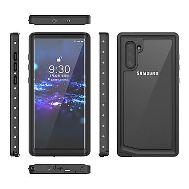 voordelige Galaxy Note-serie hoesjes / covers-hoesje Voor Samsung Galaxy Note 9 / Note 8 / Galaxy Note 10 Schokbestendig / Waterbestendig Volledig hoesje Effen TPU