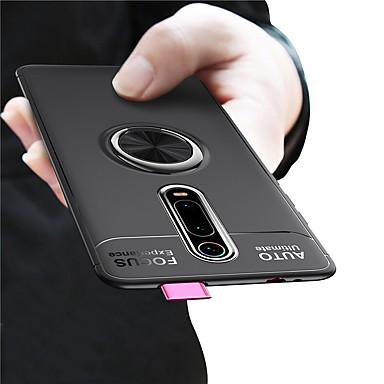 رخيصةأون Xiaomi أغطية / كفرات-حلقة حامل المغناطيسي لينة tpu سيليكون حامل الهاتف القضية ل xiaomi mi 9 طن الموالية mi 9 طن ميل cc9e ميل cc9 ميل 9 se mi 9