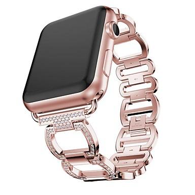 voordelige Smartwatch-accessoires-Horlogeband voor Apple Watch Series 5/4/3/2/1 Apple Sieradenontwerp Roestvrij staal Polsband