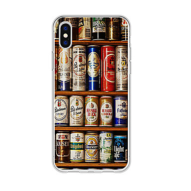 voordelige iPhone 5 hoesjes-hoesje Voor Apple iPhone XS / iPhone XR / iPhone XS Max Patroon Achterkant 3D Cartoon TPU