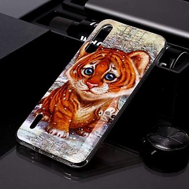 Недорогие Чехлы и кейсы для Xiaomi-чехол для xiaomi cc9 / xiaomi cc9e imd / выкройка задней крышки tiger tpu для redmi k20 / k20 pro / redmi 7a / redmi note 7 / note 7 pro