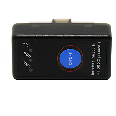 Недорогие OBD-Q7 / A8 / Epica 16pin Разъемы Male к Female OBD-II ELM327 IOS и Android App SAE J1850 PWM Автомобильные диагностические сканеры