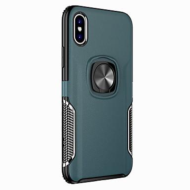 Недорогие Кейсы для iPhone X-чехол для apple iphone xr / iphone xs max магнитная задняя крышка броня жесткий тпу для iphone 7p / iphone 7 / iphone 8p