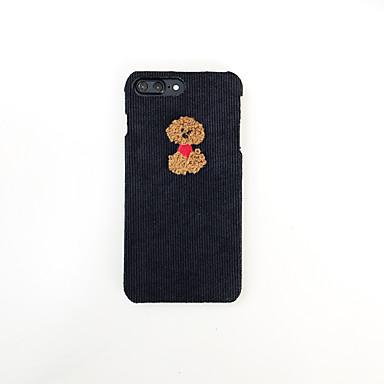 Недорогие Кейсы для iPhone 7 Plus-чехол для яблока iphone xs / iphone xr / iphone xs max рисунок задняя крышка животное / мультфильм текстиль