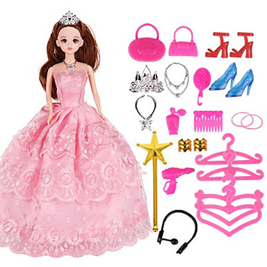 Oferta especial Barbie Zapatos Ropa Fiesta 290 Vestido