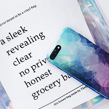 Недорогие Кейсы для iPhone 7 Plus-чехол для яблока iphone xs / iphone xr / iphone xs max ультратонкий / рисунок с задней крышкой небо / цветной градиент тпу