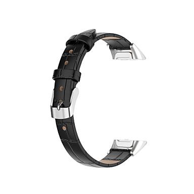 Недорогие Часы для Samsung-Ремешок для часов для Галактика подходит SM-R370 Samsung Galaxy Бабочка Пряжка Натуральная кожа Повязка на запястье