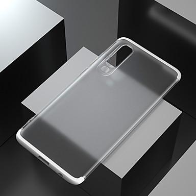 Недорогие Кейсы для iPhone 7-чехол для apple iphone xs / iphone xr / iphone xs / 7 8plus / 6splus max ударопрочный / матовый / полупрозрачный задняя крышка однотонный / прозрачный пк