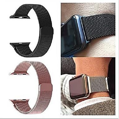 voordelige Smartwatch-accessoires-Milanese lusband voor Apple horlogeband iwatch 5/4/3/2/1 38 mm 40 mm 42 mm 44 mm