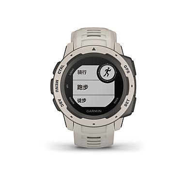 رخيصةأون ساعات ذكية-GARMIN® Garmin Instinct الرجال النساء سمارت ووتش Android iOS WIFI بلوتوث ضد الماء شاشة لمس GPS رصد معدل ضربات القلب أصفر فاتح ECG + PPG مؤقت المشي عداد الخطى تذكرة بالاتصال