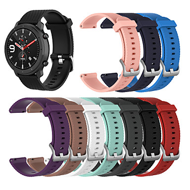voordelige Smartwatch-accessoires-horlogeband voor amazfit gtr 47mm huami sportband siliconen polsband