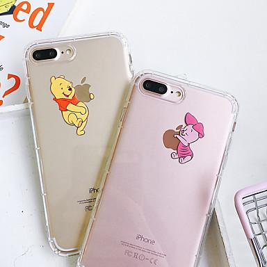 olcso -30% és még több-tok Apple iPhone ix xs max / iphone x puha szilikon ütésálló alma védő héj rajzfilm tpu mintás tasak táska virág puha műanyag iphone 6 / iphone 6s plus / iphone 8