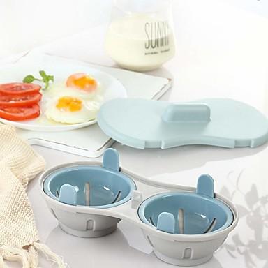 رخيصةأون أدوات خاصة-الميكروويف البيض صياد طهي كوب مزدوج الكهف المزدوج قدرة عالية تصميم طباخ البيض جمع النهائي الصيد الجائر