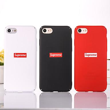 voordelige iPhone 6 Plus hoesjes-hoesje Voor Apple iPhone XS / iPhone XR / iPhone XS Max Stofbestendig / Patroon Achterkant Effen / Woord / tekst PC