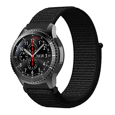 Недорогие Часы для Samsung-22мм плетеный нейлоновый спортивный ремешок для часового ремешка для часов Samsung Galaxy 46mm / gear s3 frontier / gear s3 classic