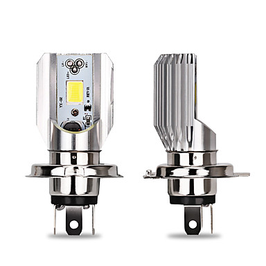 Недорогие Автомобильные фары-1шт h4 / ba20d мотоциклетные / автомобильные лампочки 9 Вт початка светодиодные дневные ходовые огни / фары для универсальных на все годы