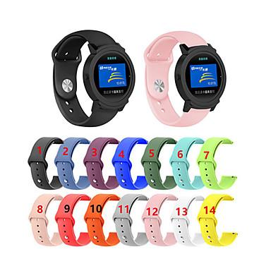 voordelige Horlogebandjes voor Ticwatch-Vervangende polsband van 20 mm polsband voor icwatch 2 / ticwatch e slimme horloge-accessoires polsbandriem omkeergesp