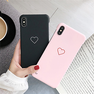 Недорогие Кейсы для iPhone X-чехол для яблока iphone xs / iphone xr / iphone xs max pattern задняя крышка сердца пк для iphone 6 6 плюс 6s 6s плюс 7 8 7 плюс 8 плюс x xs