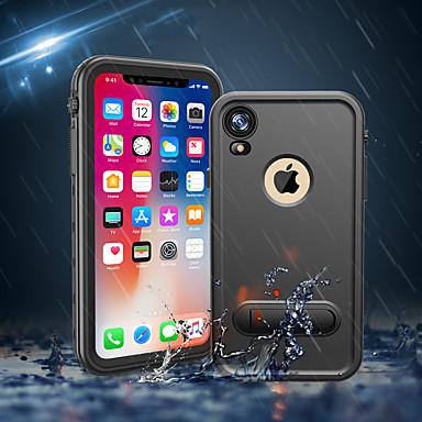 Недорогие Кейсы для iPhone-чехол для яблока iphone xs / iphone xr / iphone xs max / 7 8 plus / 6splus противоударный / водостойкий / с подставкой для задней панели брони пк