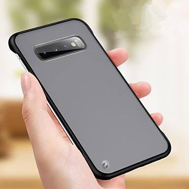 Недорогие Чехлы и кейсы для Galaxy Note-ультратонкий тонкий бескаркасный прозрачный матовый чехол для Samsung Galaxy S10 плюс S10E S10 S9 плюс S9 S8 плюс S8 S7 край S7 задняя крышка жесткого диска для заметок 10 плюс примечание 10