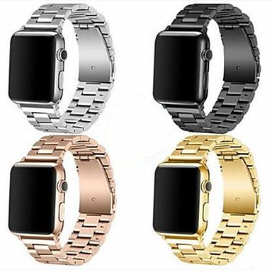 povoljno Apple Watch remeni-Pogledajte Band za Apple Watch Series 5/4/3/2/1 Apple Preklopna metalna narukvica Nehrđajući čelik Traka za ruku