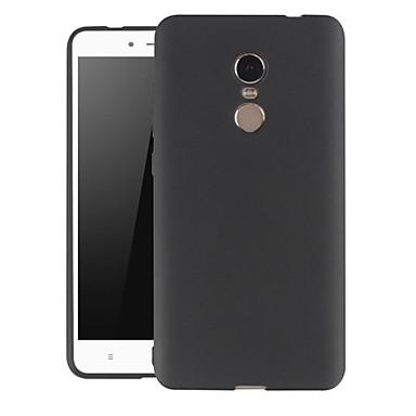 Недорогие Чехлы и кейсы для Xiaomi-Кейс для Назначение Xiaomi Xiaomi Redmi Примечание 5 / Xiaomi Redmi Note 4X Защита от пыли / Ультратонкий / Матовое Кейс на заднюю панель Однотонный ТПУ