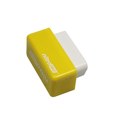 Недорогие OBD-Outzone NITRO OBD2 Производительность чип-штекер и настройка привода блок питания для бензина бензиновый автомобиль желтый - более 35% мощности и 25% крутящего момента 2шт желтый