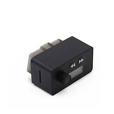 Недорогие OBD-kungfuren obd2 диагностическое устройство адаптер blutooth 4.0 с FM-передатчиком автомобильный bluetooth для ios и android android obd2 диагностический сканер 16-контактный интерфейс obdii для чтения