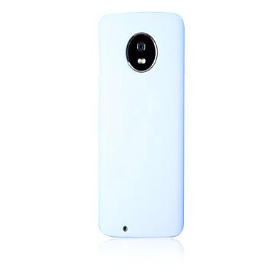 Недорогие Чехлы и кейсы для Motorola-Кейс для Назначение Motorola MOTO G6 / Мото G7 / Moto G7 Play Ультратонкий Кейс на заднюю панель Однотонный ТПУ
