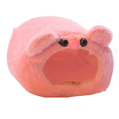Недорогие Аксессуары для мелких животных-Мышь хомяк Кровати / Хлопко-полимерная смешанная ткань Синий Розовый
