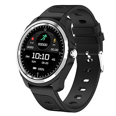 رخيصةأون ساعات ذكية-kw05 smartwatch bt البدنية تعقب دعم رصد معدل ضربات القلب / الدم الأكسجين للماء ووتش الذكية لالروبوت / ios