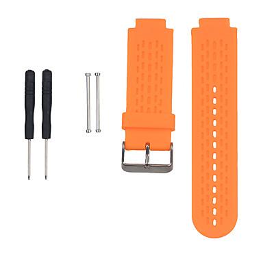 Недорогие Аксессуары для смарт-часов-Ремешок для часов для Approach S4 / Approach S2 Garmin Спортивный ремешок силиконовый Повязка на запястье