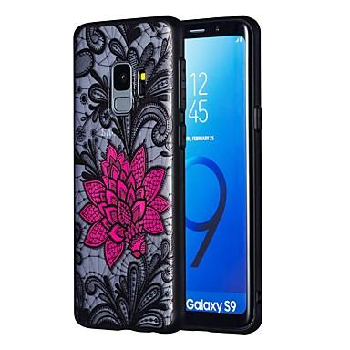 Θήκη Za Samsung Galaxy S9 / S9 Plus / S8 Plus Prozirno Stražnja maska Cvijet TPU / PC