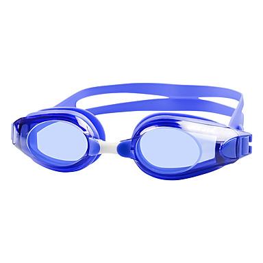 billige Svømmebriller-svømmebriller Vandtæt Anti-Tåge Spejlet silica Gel PC Hvid Sort Blå Grøn Sort Blå