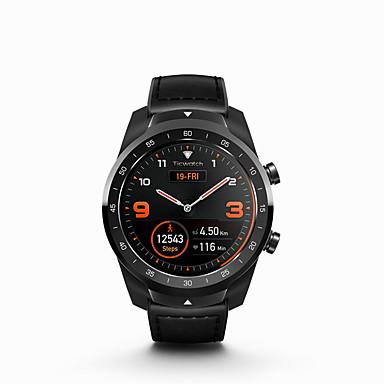 رخيصةأون ساعات ذكية-TicWatch TicWatch 4G الرجال النساء سمارت ووتش Android iOS WIFI بلوتوث ضد الماء شاشة لمس GPS رصد معدل ضربات القلب أصفر فاتح ECG + PPG مؤقت المشي عداد الخطى تذكرة بالاتصال