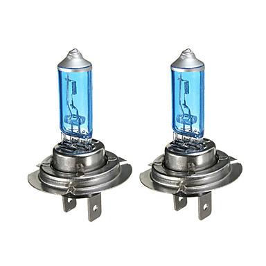 olcso HID és halogén izzók-2db / készlet h7 12v 55w fehér 6300k kék autó fényszóró lámpa autó világítás