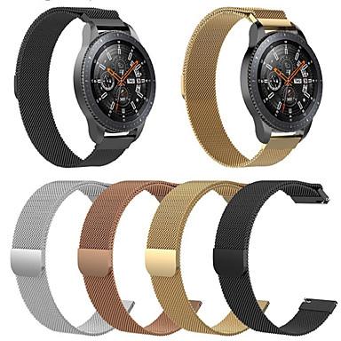 abordables Accesorios para Smartwatch-Ver Banda para Huawei Watch GT Huawei Correa Milanesa Acero Inoxidable Correa de Muñeca