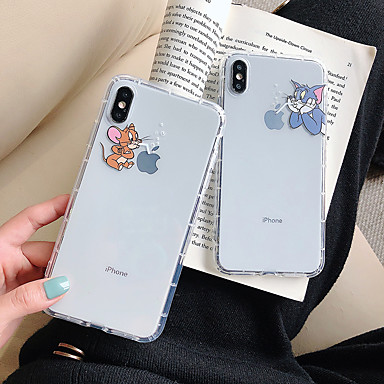 رخيصةأون أغطية أيفون-غطاء من أجل Apple اي فون 11 / iPhone 11 Pro / iPhone 11 Pro Max نموذج غطاء خلفي كارتون TPU