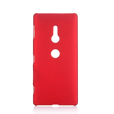 Недорогие Чехлы и кейсы для Sony-Кейс для Назначение Sony Xperia XZ2 / Sony Xperia XZ3 / Sony Xperia XZ1 Ультратонкий Кейс на заднюю панель Однотонный ТПУ