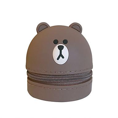 Недорогие Чехлы и кейсы для HTC-сумка для наушников портативная сумка для хранения наушников милый мультфильм силикон 1 шт