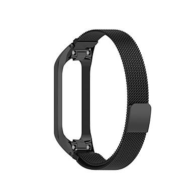 Недорогие Часы для Samsung-Ремешок для часов для Galaxy Fit E R375 Samsung Galaxy Миланский ремешок Нержавеющая сталь Повязка на запястье