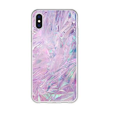 voordelige iPhone-hoesjes-hoesje Voor Apple iPhone XS / iPhone XR / iPhone XS Max Patroon Achterkant Marmer / Kleurgradatie TPU